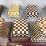 箱根寄木細工 本間木工所 市松の小箱